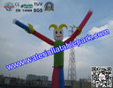 Attractive Air Dancer Inflatable Advertising Rental  6M  with Parks for sale