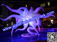 China Club Ceiling Inflatable Stage Decoration LED Light  220V / 110V distributor