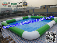 Best Amusement Park  Square Inflatable Water Pool  Facilities 7m x 7m