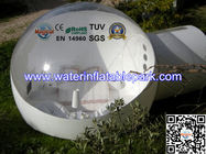 Single Layer PVC Inflatable Bubble Tent , Inflatable Igloo Tent for sale