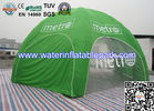 Green Inflatable Tent  Exhibition , Commercial Inflatable Marquee Tent for sale