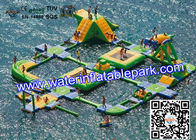 Inflatable Aqua Park For Adults And Kids , Amusement  Water Park CE / EN for sale