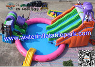 20m Diameter Summer Fun Outdoor  Inflatable Water Sport Game by 0.55mm PVC Tarpaulin for sale