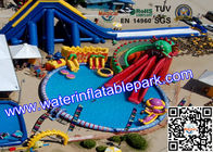 Popular  Water Park Equipment  Inflatable Movable For Sport Games for sale