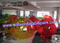 China Party Rental Crazy Inflatable Water Ball , Inflatable Hamster Ball For Entertainment distributor