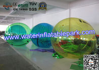 Transparent Floating Inflatable Water Ball , Walking Water Zorb Ball 2.5m Diameter for sale