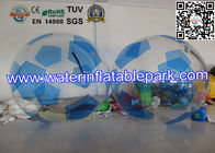 China PVC Inflatable Water Ball , Outdoor Inflatable Football with Fun distributor
