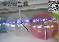 China Colorful 0.9mm PVC Clear Sphereing Inflatable Water Walking Ball For Entertainment distributor