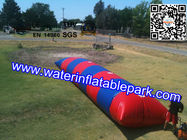 China Kids Inflatable Water Blob With Outdoor Pool , Funny  Inflatable Water Games distributor
