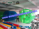 China Exciting Green Huge Inflatable Walk On Water Ball , Person Inside Ball distributor
