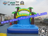 Popular Inflatable Wet Slide For Rental Business / Party Inflatable Slide Rentals for sale
