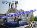 Rental Large Inflatable Bounce Slide / Inflatable Amusement Park For Event / Party for sale