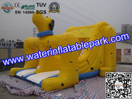China Adults And Kids Dog Inflatable Dry Slides For Amusement Park distributor