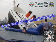 Giant Titanic Inflatable Slide For Kids WaterProof And Fireproof for sale