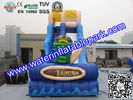 China Largest  Inflatable Bouncy Slide Rentals For Water Sport Games distributor