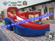 Professional Inflatable Bouncy Castle Combo 1500D PVC  with Slide for sale