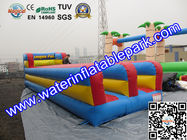 Custom Inflatable Sport Games , Inflatable Bungee Run 10M x 3M for sale