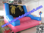 Exciting Inflatable Sport Games , Inflatable Velcro Wall For Children for sale