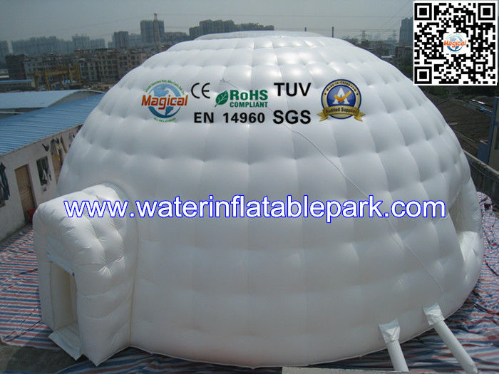 10m dia Inflatable Igloo Tent With Clear Top Roof  Inflatable Dome Tent & 10m dia Inflatable Igloo Tent With Clear Top Roof  Inflatable ...