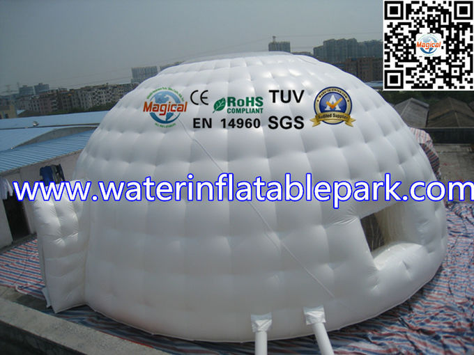 10m dia Inflatable Igloo Tent With Clear Top Roof  Inflatable Dome Tent & dia Inflatable Igloo Tent With Clear Top Roof  Inflatable Dome Tent